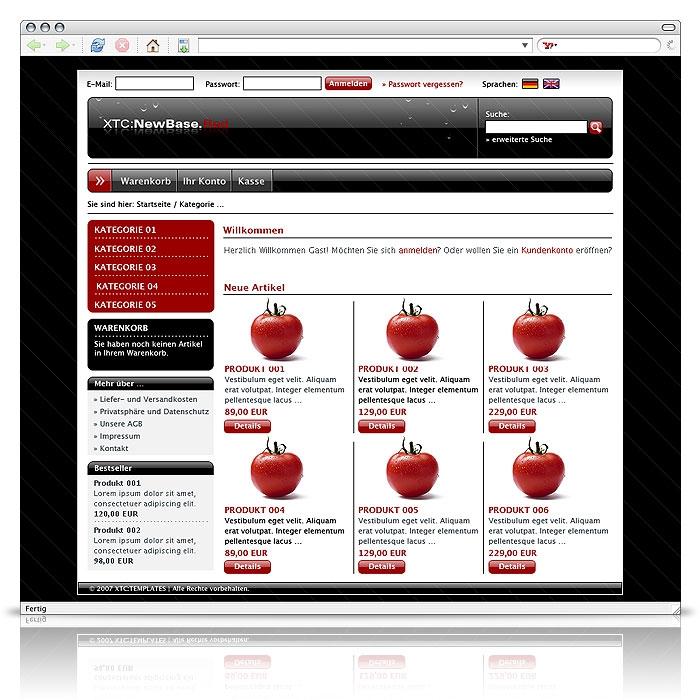 Get-a-Shop xt:Commerce XL All-In-One online buchen bei hostking.de ...
