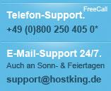 Bitte rufen Sie uns an oder schreiben Sie uns eine E-Mail.